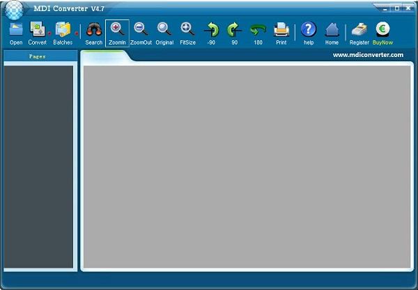 MDI文件格式转换器(MDI Converter)