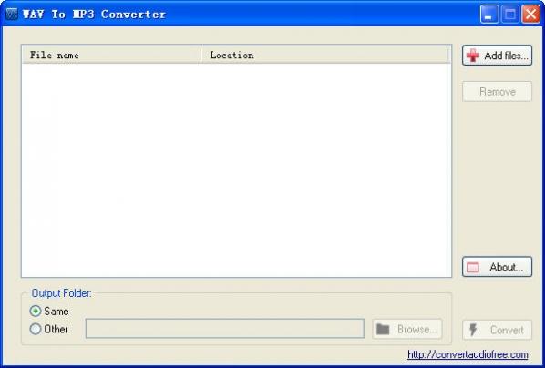 wav转mp3(WAV to MP3 Converter)