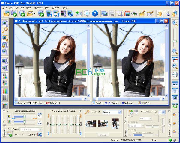 照片压缩机/缩放器/编辑器(Photo RAR For WinRAR)