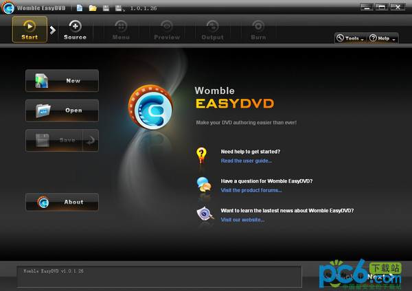 DVD制作工具(Womble EasyDVD)