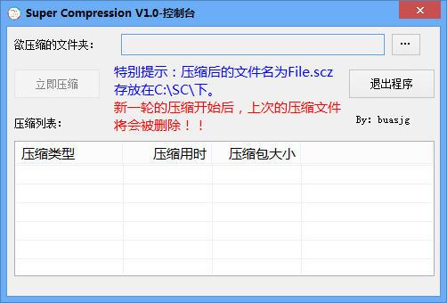 解压缩利器(Super Compression)