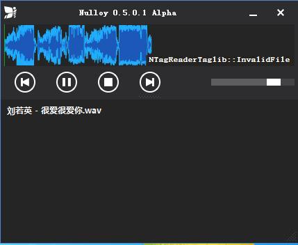 简单音乐播放器(Nulloy)