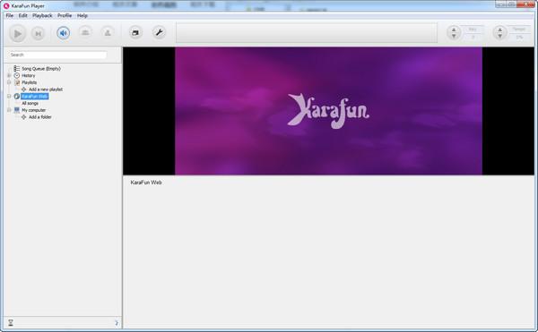 KaraFun Player(免费的卡拉ok软件)