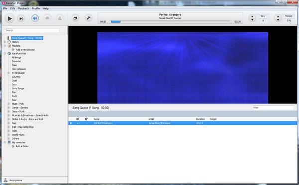 KaraFun Player(免费的卡拉ok软件)截图