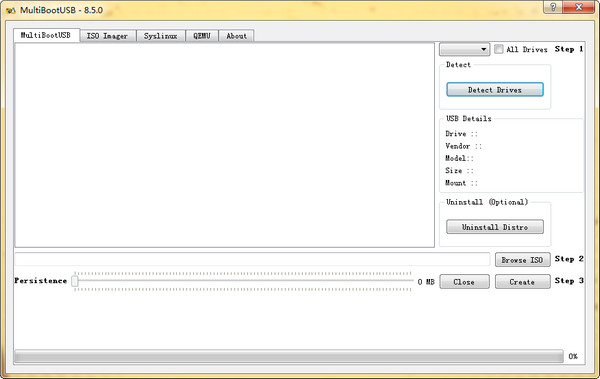 LinuxU盘启动工具MultiBootUSB