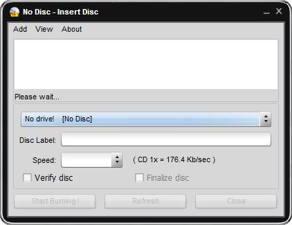 easy disc burner(cd/dvd刻录软件)