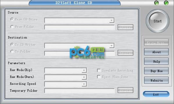 光盘复制软件(321Soft Clone CD)