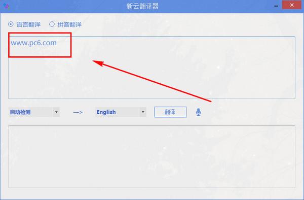 新云翻译器截图