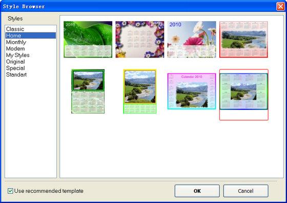 日历制作软件(Photo Calendar Maker)截图