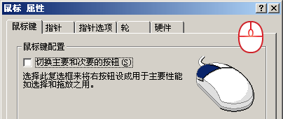 鼠标左右键互换软件(iMouse)