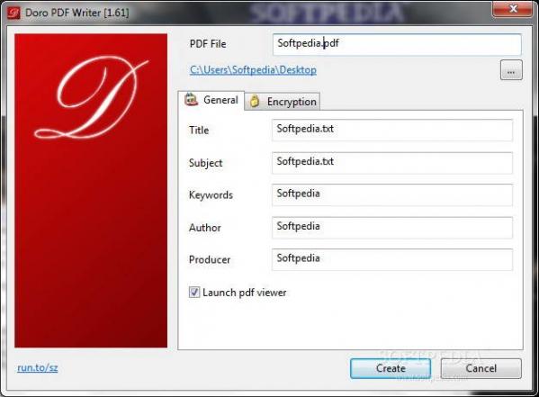 Doro PDF Writer(虚拟打印机)截图