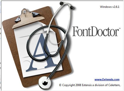 FontDoctor字体文件修复