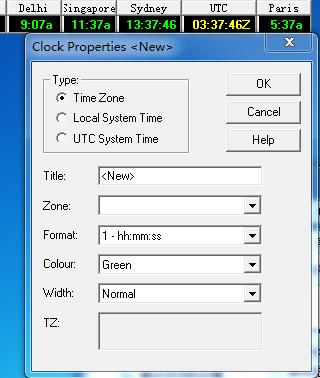 Wclock V1.4绿色免费版