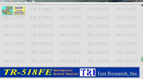 TR-518FE在线测试仪软件