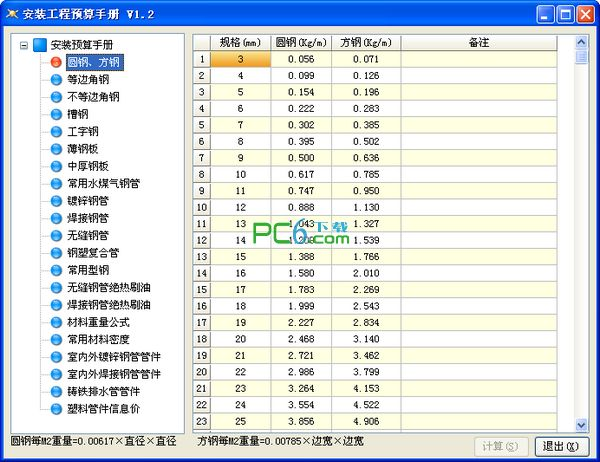 安装工程预算手册