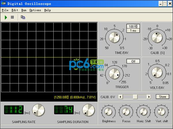 虚拟数字示波器App(BIP Oscilloscope)