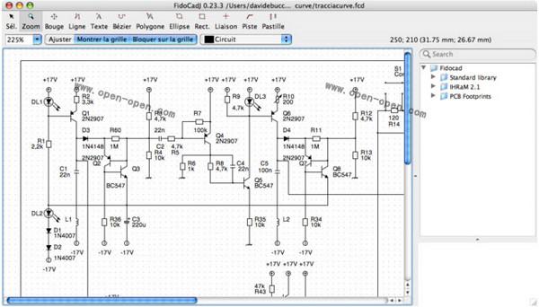 电气制图工具(FidoCadJ)