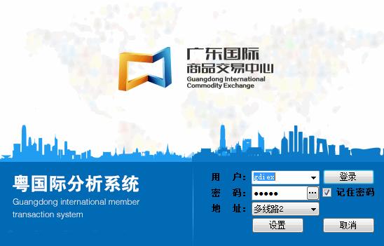 粤国际行情分析系统截图