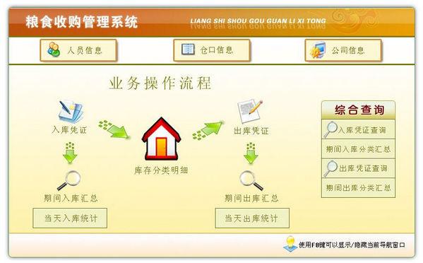 粮食收购管理软件