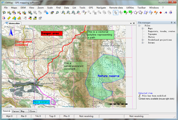 OkMap(免费GPS地图软件)LOGO
