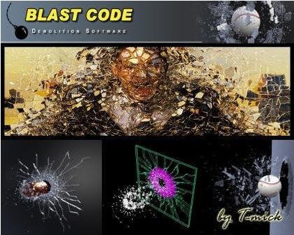 Blast Code(MAYA爆破插件)