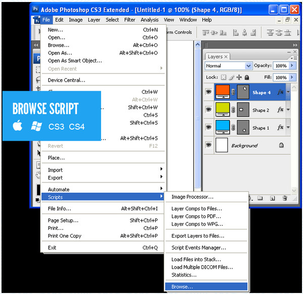 CSS3PS插件截图