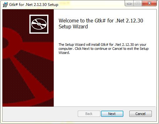 gtk# for .net截图
