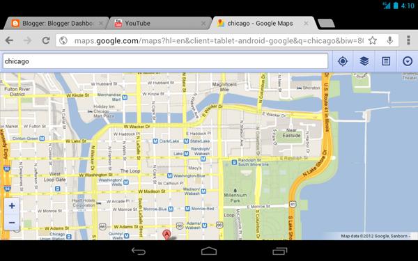 谷歌浏览器TV版截图1