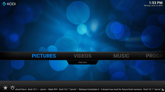 Kodi TV版截图2