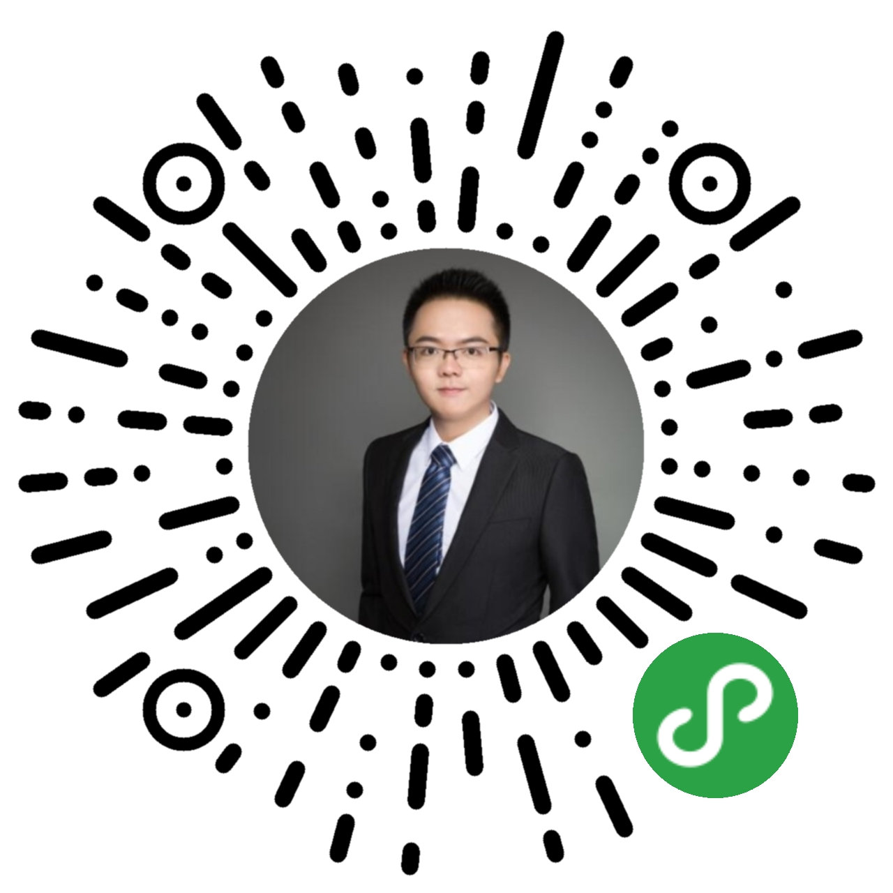 广州刑事辩护律师李汉林小程序二维码