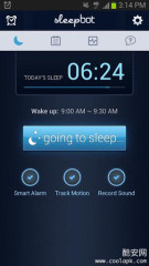 睡眠日志:SleepBot - Smart Alarm截图1