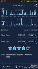 睡眠日志:SleepBot - Smart Alarm截图3
