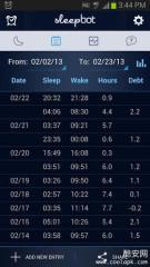 睡眠日志:SleepBot - Smart Alarm截图4