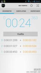 精度计时器:Stopwatch Timer Alarm截图3