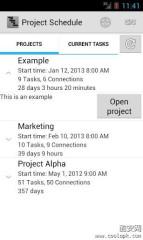项目管理:Project Schedule截图1