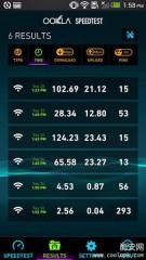Speedtest网速测试截图2