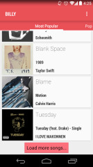 Billboard排行榜:Billy截图2