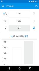 百分比计算器截图2
