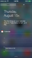 iOS式状态栏iNoty截图1