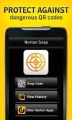 诺顿二维码扫描:Norton Snap截图1