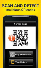 诺顿二维码扫描:Norton Snap截图2
