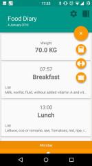 饮食日记:Food Diary截图4