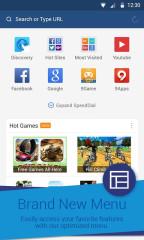 迷你UC:UC Browser Mini截图1