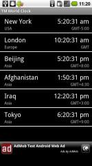 世界时钟截图1