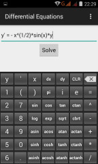 微分方程计算器(Differential Equations)截图1
