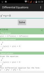 微分方程计算器(Differential Equations)截图2