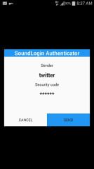 声音登录:SoundLogin Authenticator截图4