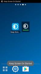 保持屏幕常亮小挂件:Keep Screen On Widget截图2