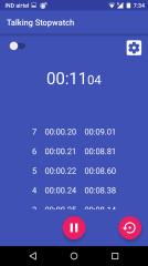 会说话的秒表:Talking Stopwatch截图3