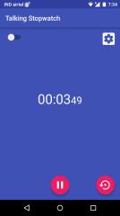 会说话的秒表:Talking Stopwatch截图1